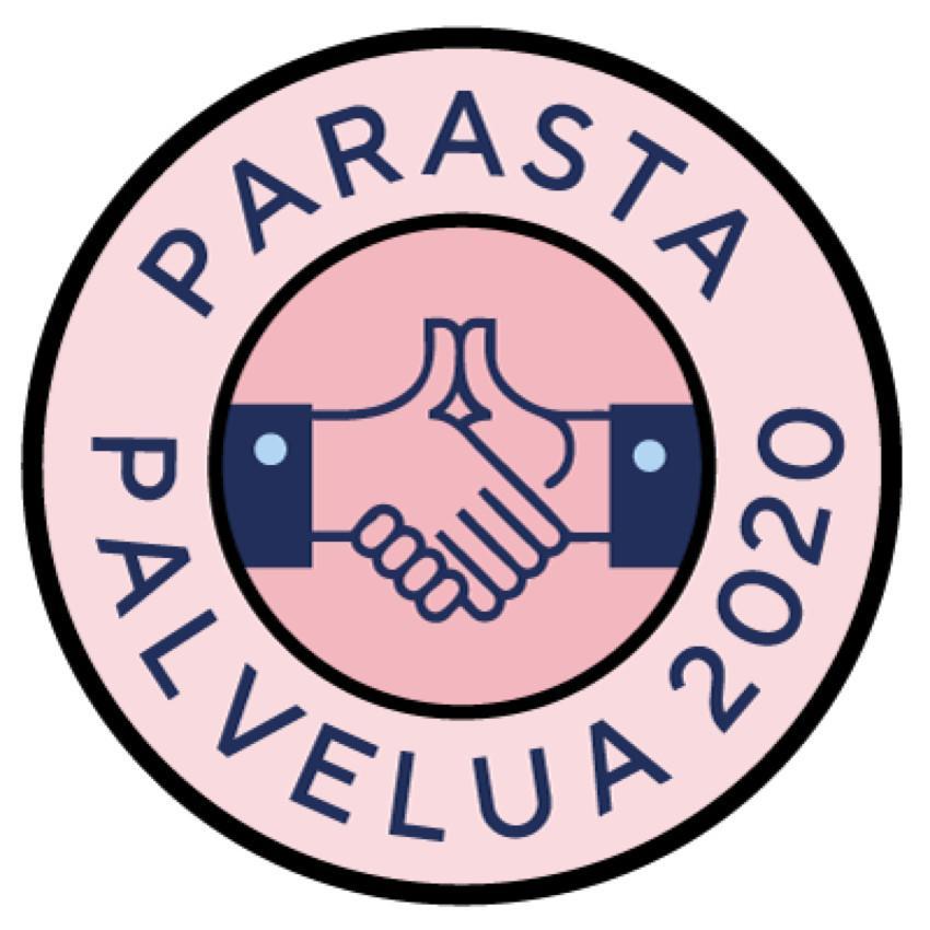 Parasta Palvelua logo